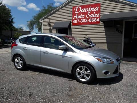 2013 Ford Focus for sale at DAVINA AUTO SALES in Orlando FL