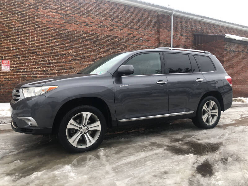 2011 Toyota Highlander for sale at Jim's Hometown Auto Sales LLC in Byesville OH