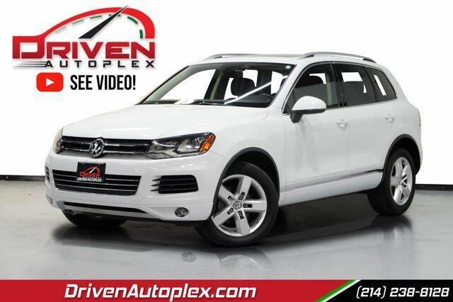 2013 Volkswagen Touareg for sale in Dallas, TX