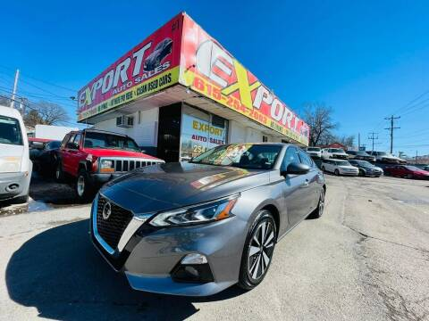 2020 Nissan Altima for sale at EXPORT AUTO SALES, INC. in Nashville TN