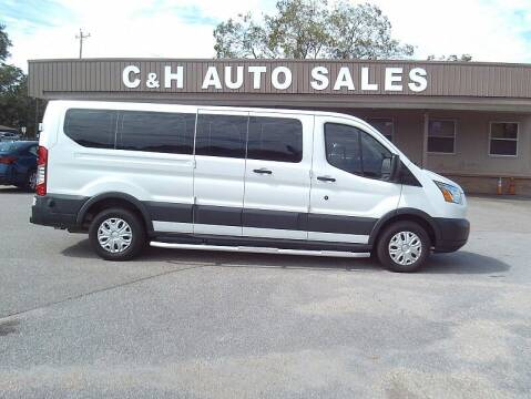 2015 Ford Transit Passenger for sale at C & H AUTO SALES WITH RICARDO ZAMORA in Daleville AL