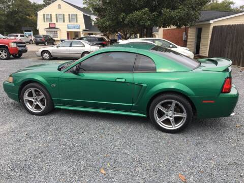2000 Ford Mustang for sale at LAURINBURG AUTO SALES in Laurinburg NC