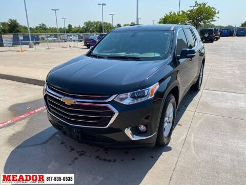 2020 Chevrolet Traverse for sale at Meador Dodge Chrysler Jeep RAM in Fort Worth TX