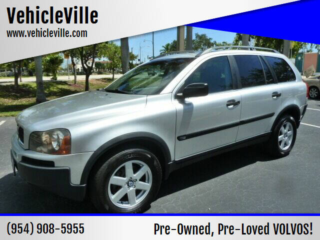 2004 Volvo XC90 for sale at VehicleVille in Fort Lauderdale FL