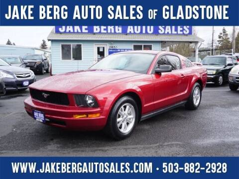 2006 Ford Mustang for sale at Jake Berg Auto Sales in Gladstone OR