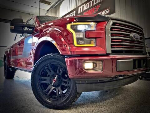 2017 Ford F-150 for sale at Carder Motors Inc in Bridgeport WV
