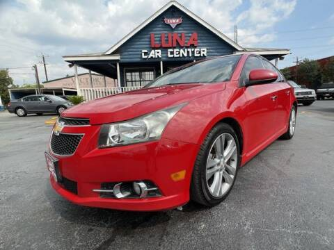 2013 Chevrolet Cruze for sale at LUNA CAR CENTER in San Antonio TX