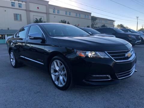 2018 Chevrolet Impala for sale at DELRAY AUTO MALL in Delray Beach FL