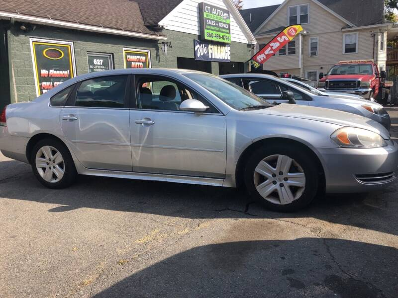 2011 Chevrolet Impala for sale at Connecticut Auto Wholesalers in Torrington CT