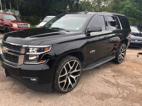 2016 Chevrolet Tahoe for sale at Texas Luxury Auto in Houston TX