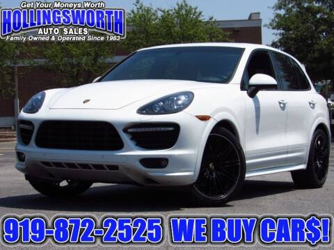 2014 Porsche Cayenne for sale at Hollingsworth Auto Sales in Raleigh NC