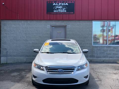2012 Ford Taurus for sale at Alpha Motors in Chicago IL