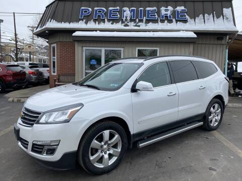2017 Chevrolet Traverse for sale at Premiere Auto Sales in Washington PA