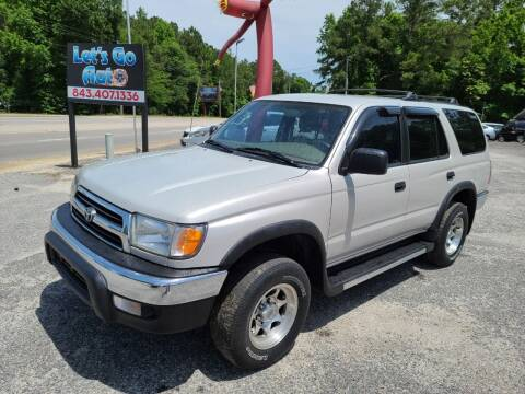 1999 Toyota 4Runner for sale at Let's Go Auto in Florence SC