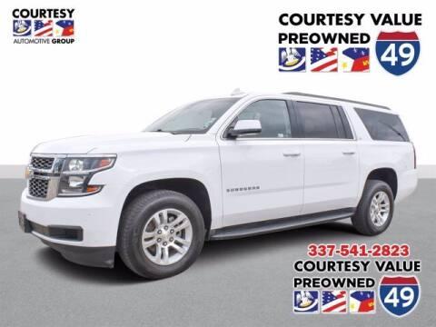 2017 Chevrolet Suburban for sale at Courtesy Value Pre-Owned I-49 in Lafayette LA