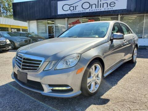 2013 Mercedes-Benz E-Class for sale at Car Online in Roswell GA