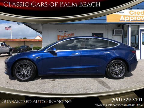 2019 Tesla Model 3 for sale at Classic Cars of Palm Beach in Jupiter FL