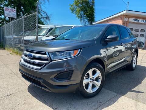 2017 Ford Edge for sale at Seaview Motors and Repair LLC in Bridgeport CT