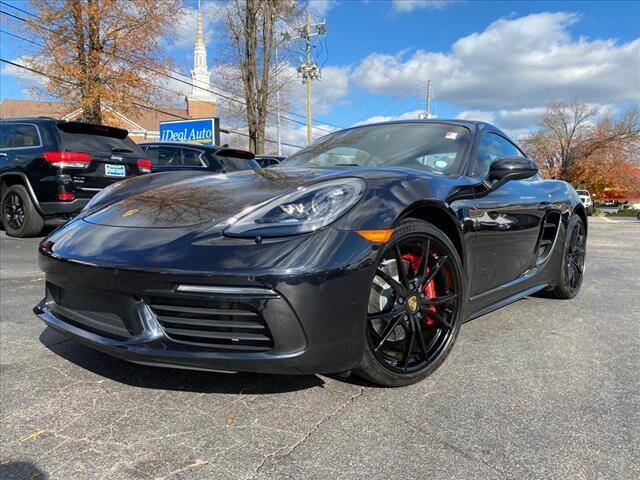 2019 Porsche 718 Cayman for sale at iDeal Auto in Raleigh NC