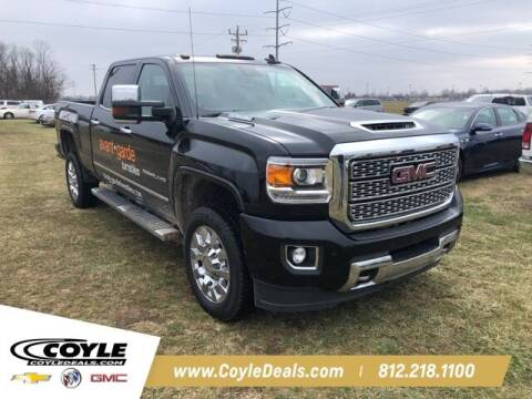 2018 GMC Sierra 2500HD for sale at COYLE GM - COYLE NISSAN - Coyle Nissan in Clarksville IN