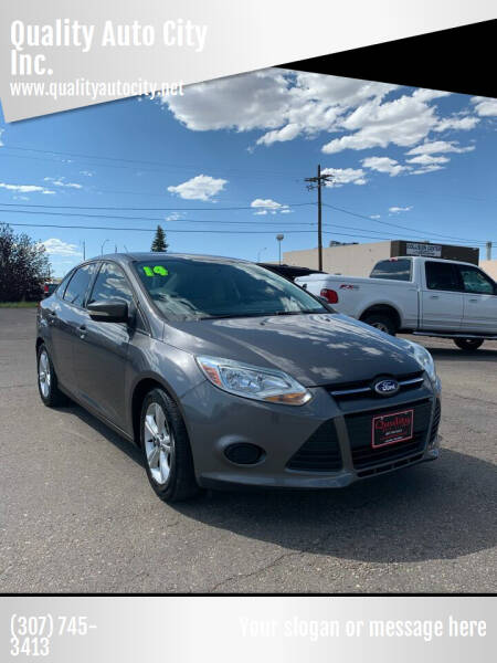 2014 Ford Focus for sale at Quality Auto City Inc. in Laramie WY