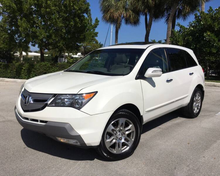 2008 Acura MDX for sale at FIRST FLORIDA MOTOR SPORTS in Pompano Beach FL
