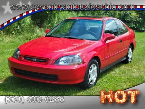 1998 Honda Civic for sale at Coventry Auto Sales in Youngstown OH