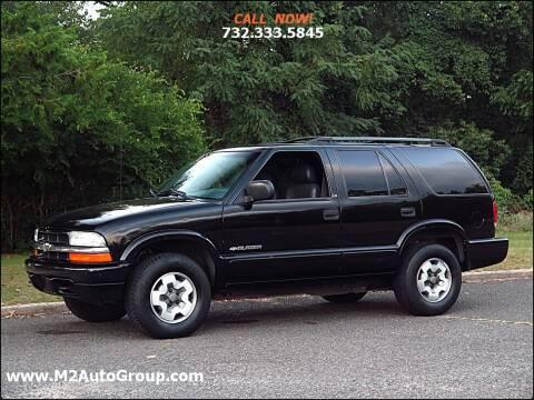 2002 Chevrolet Blazer for sale at M2 Auto Group Llc. EAST BRUNSWICK in East Brunswick NJ