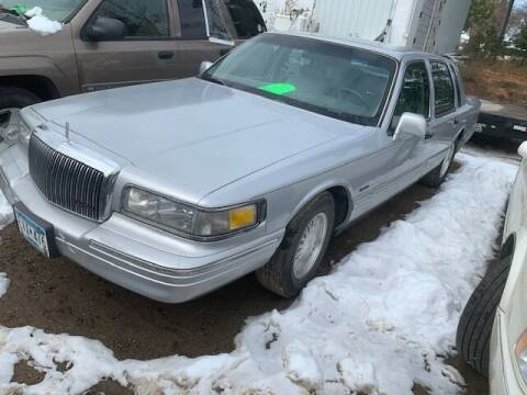 1997 Lincoln Town Car for sale at Four Boys Motorsports in Wadena MN