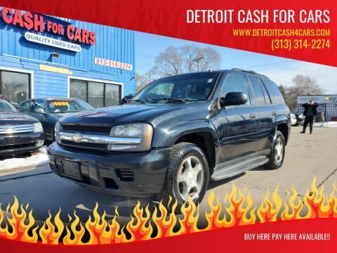 2006 Chevrolet TrailBlazer for sale at Detroit Cash for Cars in Warren MI