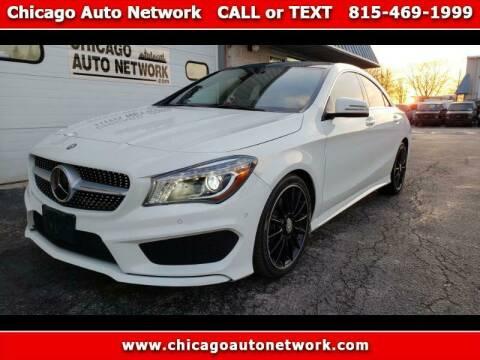 2015 Mercedes-Benz CLA for sale at Chicago Auto Network in Mokena IL