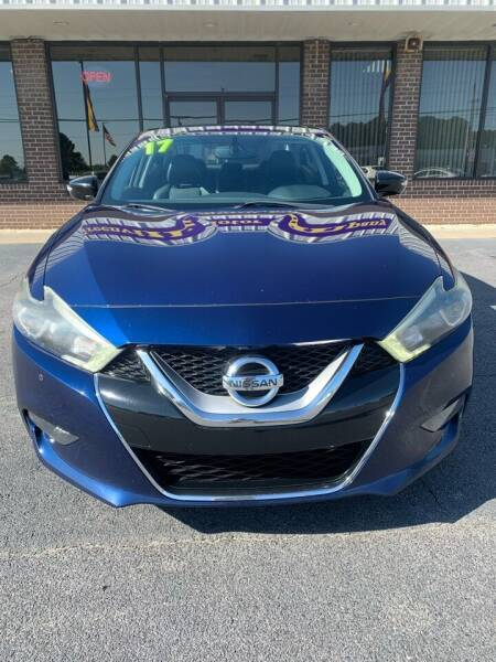 2017 Nissan Maxima for sale at Greenville Motor Company in Greenville NC
