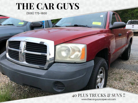 2007 Dodge Dakota for sale at The Car Guys in Hyannis MA
