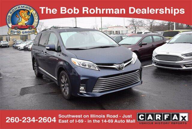 2018 Toyota Sienna for sale at BOB ROHRMAN FORT WAYNE TOYOTA in Fort Wayne IN