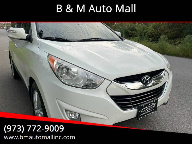 2011 Hyundai Tucson for sale at B & M Auto Mall in Clifton NJ