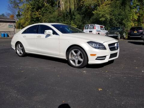 2012 Mercedes-Benz CLS for sale at AFFORDABLE IMPORTS in New Hampton NY