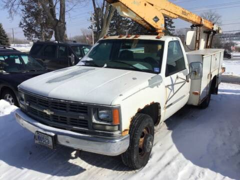 1999 Chevrolet Silverado 3500HD for sale at Sparkle Auto Sales in Maplewood MN