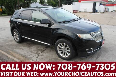 2011 Lincoln MKX for sale at Your Choice Autos in Posen IL