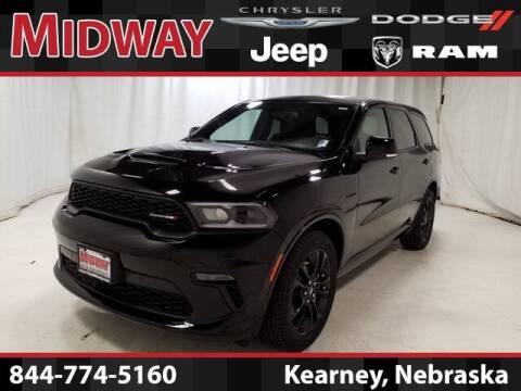 2021 Dodge Durango for sale at MIDWAY CHRYSLER DODGE JEEP RAM in Kearney NE