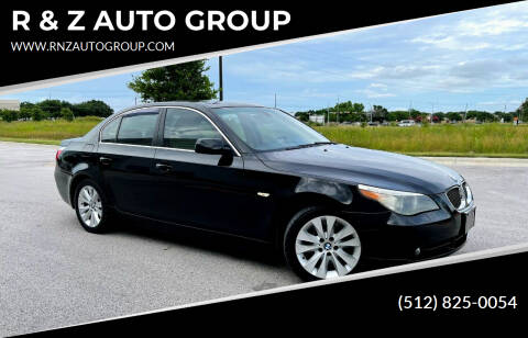 2004 BMW 5 Series for sale at R & Z AUTO GROUP in Austin TX