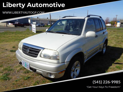 2003 Suzuki Grand Vitara for sale at Liberty Automotive in Grants Pass OR