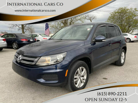 2013 Volkswagen Tiguan for sale at International Cars Co in Murfreesboro TN