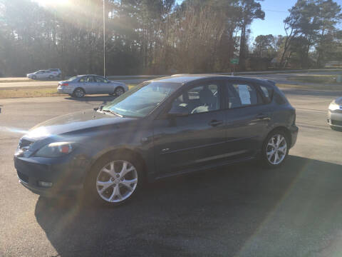 2008 Mazda MAZDA3 for sale at O'Quinns Auto Sales, Inc in Fuquay Varina NC