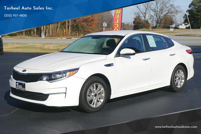 2018 Kia Optima for sale at Tarheel Auto Sales Inc. in Rocky Mount NC