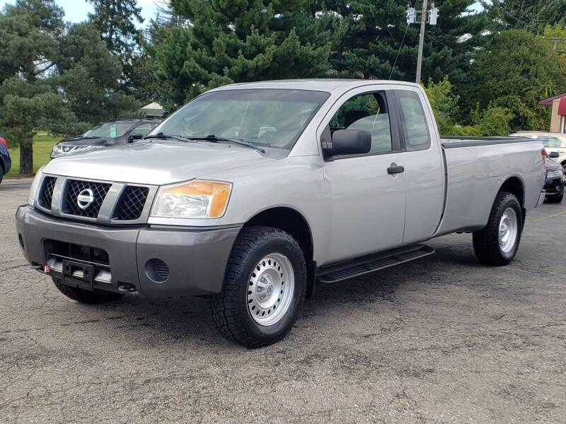 2008 Nissan Titan for sale at Thompson Motors in Lapeer MI