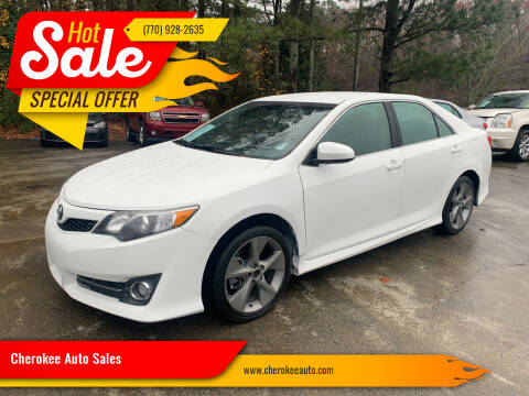 2014 Toyota Camry for sale at Cherokee Auto Sales in Acworth GA