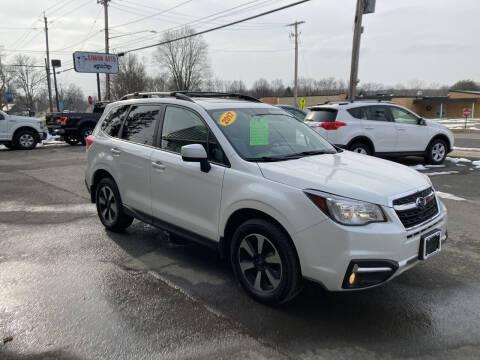 2017 Subaru Forester for sale at JERRY SIMON AUTO SALES in Cambridge NY