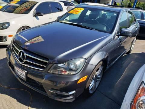 2014 Mercedes-Benz C-Class for sale at CAR CITY SALES in La Crescenta CA
