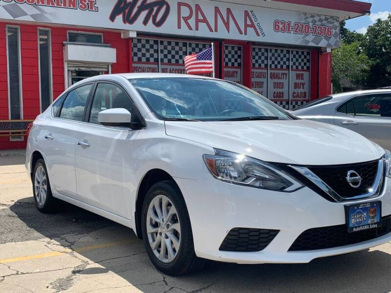 2018 Nissan Sentra for sale at AUTORAMA SALES INC. in Farmingdale NY