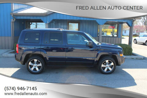 2017 Jeep Patriot for sale at Fred Allen Auto Center in Winamac IN